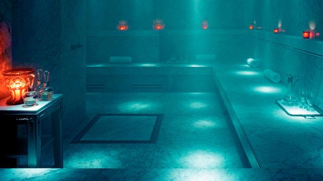 Baño Turco Caracteristicas:Uso eficiente del baño de vapor
