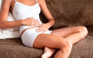 Baños de vapor para el alivio de dolores de menstruación en mujeres