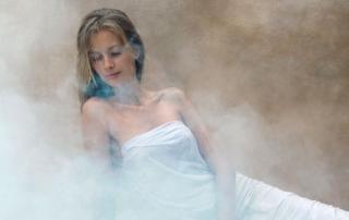 Baño de vapor como remedio casero