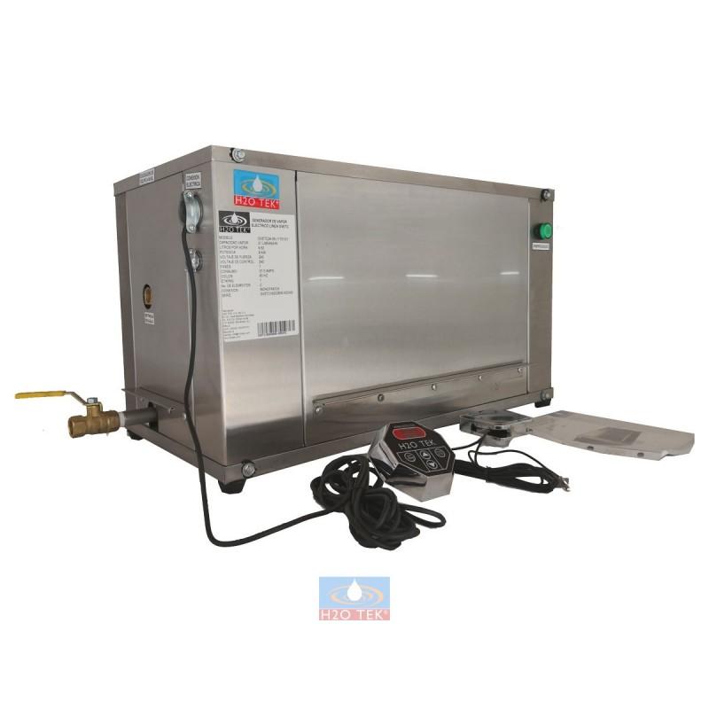 Generadora de vapor eléctrica para baño