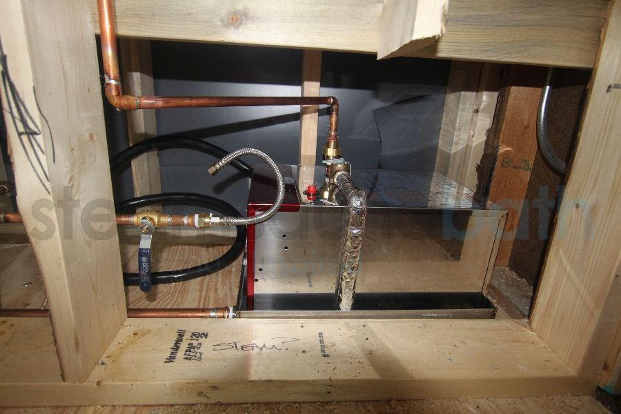 reparacion generador de vapor
