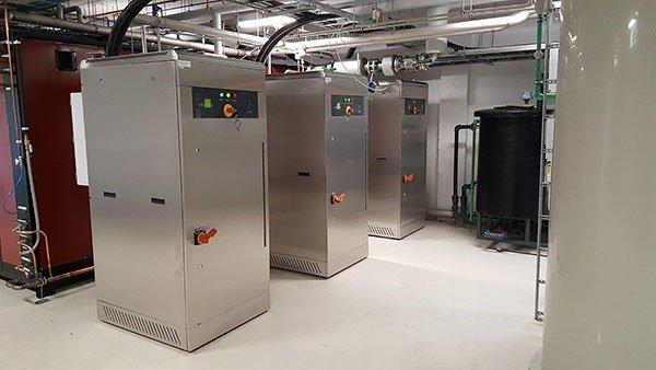 ¿Cuándo usar generadores de vapor eléctricos?